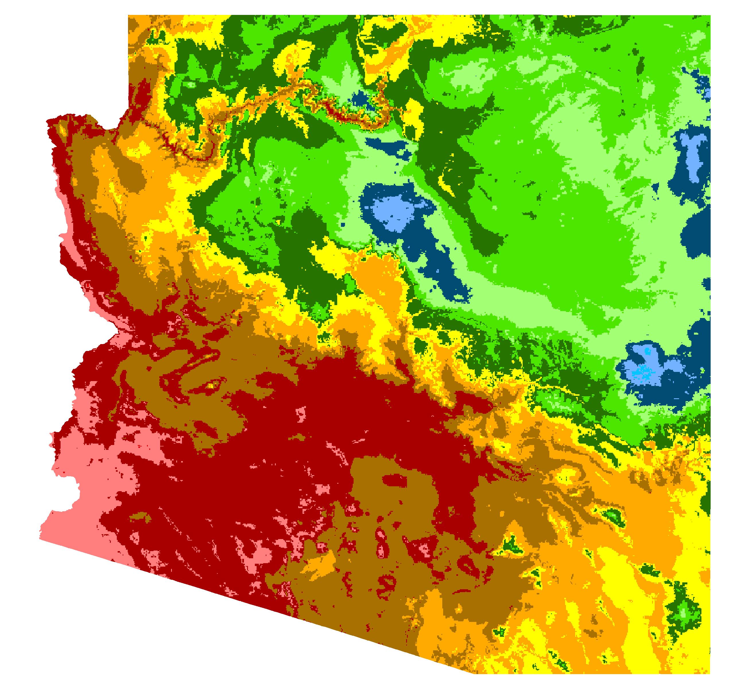 Cochise County, Arizona Hardiness Zones