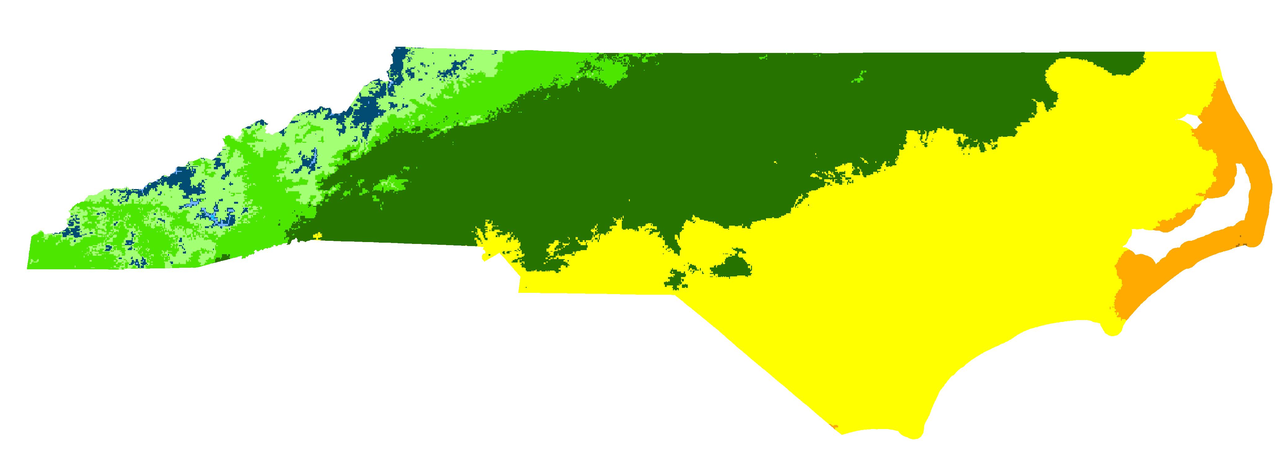 Rutherford County, North Carolina Hardiness Zones