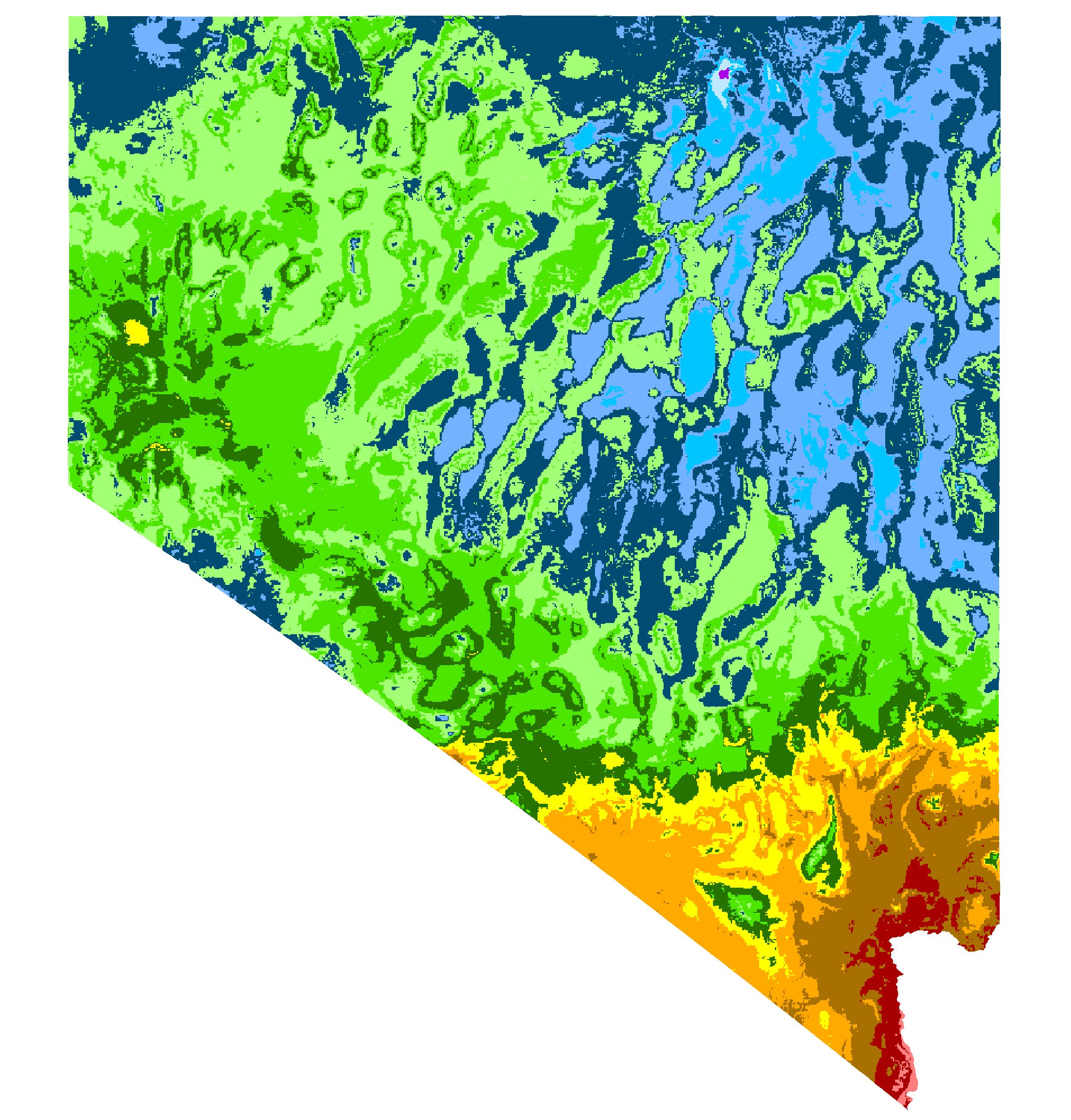 Fernley, Nevada Hardiness Zones