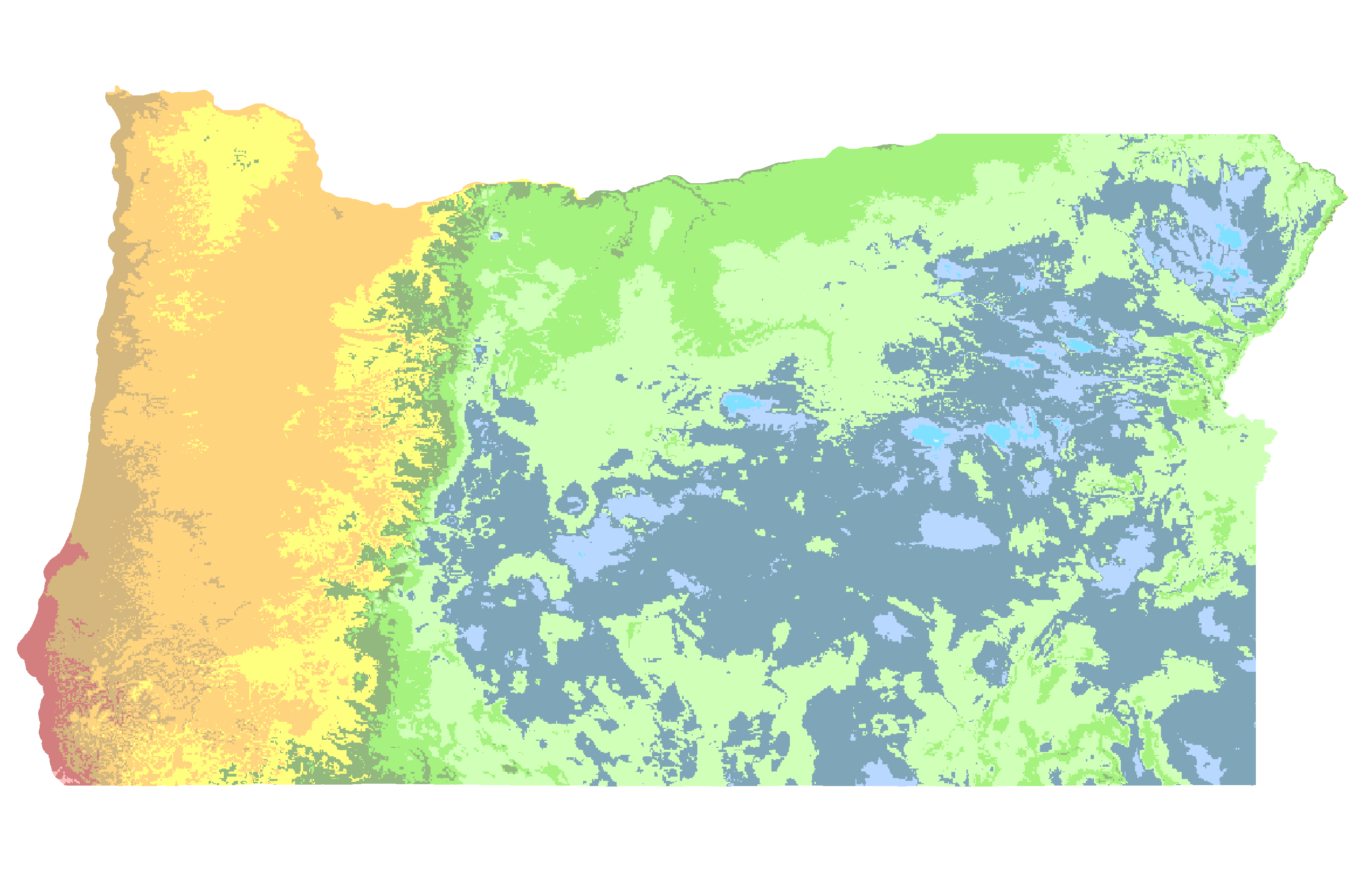 sunriver oregon is in usda hardiness zones 6a
