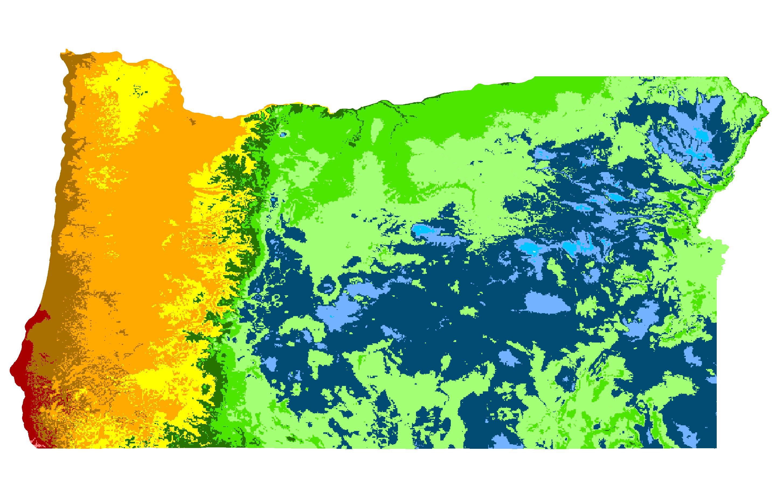 Newberg, Oregon Hardiness Zones